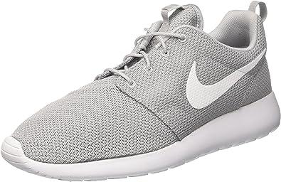 nike roshe run white trainers