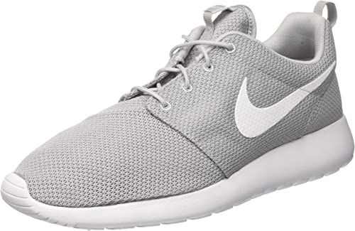 nike damen roshe run grau