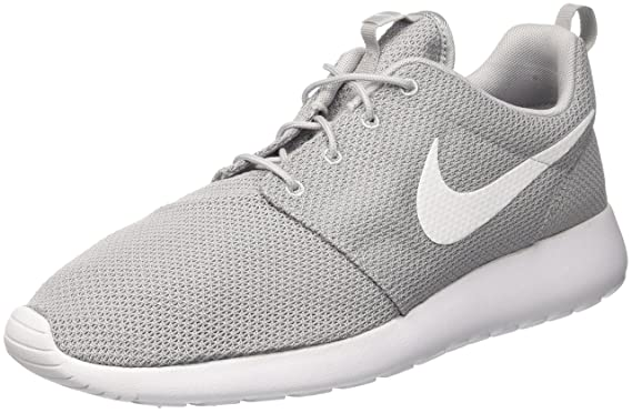 new product 7f1c5 a0280 Nike Mens Rosherun Wolf Grey White Running Shoe 10.5 Men US