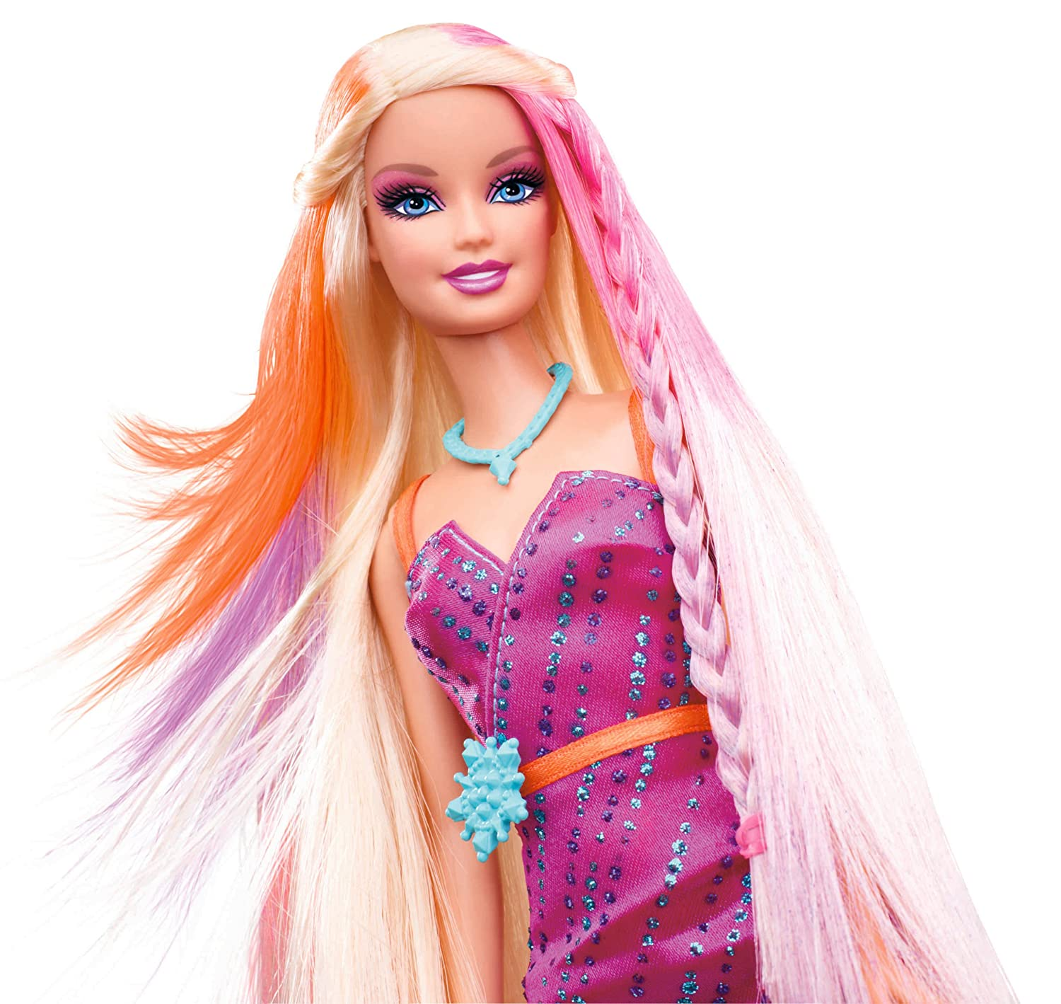 Buy Barbie Hairtastic Color Stylin Doll Online At Low Prices In - Hairstyle barbie doll