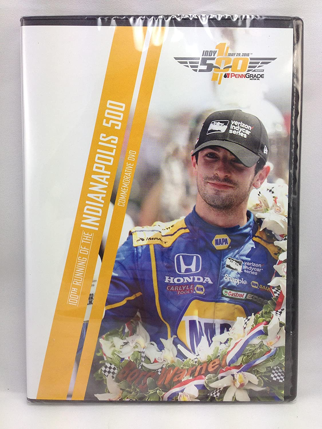 100th Running of the Indianapolis 500 Commemorative DVD