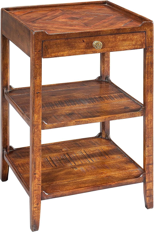 Sarreid Triple Shelf Occasional Table