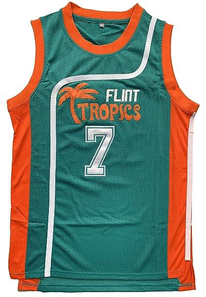 Amazon.com: Flint Tropics Jackie Moon #33 - Camiseta de ...