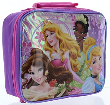 48f5d8f5c60 Image Unavailable. Image not available for. Color  Disney Princess  Insulated Lunch Bag ...