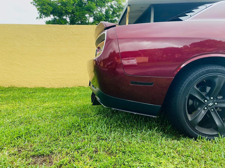 Challenger Rear Diffuser 8 Piece Kit V2 2015-2020