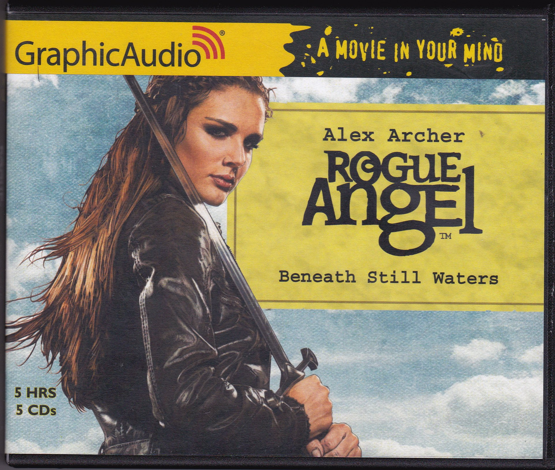 Rogue Angel, Beneath Still Waters, GraphicAudio, A Movie in Your Mind: Alex  Archer: 9781628512106: Amazon.com: Books