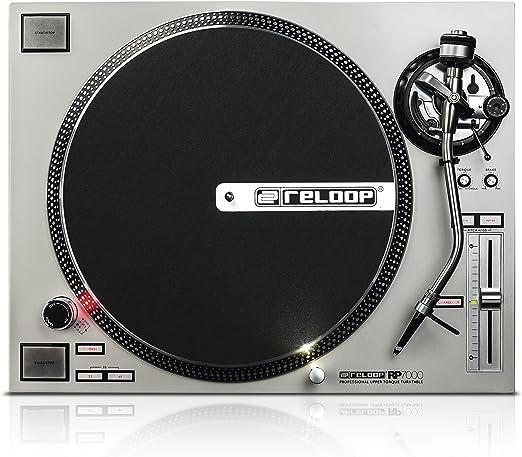 Amazon.com: Reloop rp-7000 cuarzo Driven Tocadiscos DJ con ...