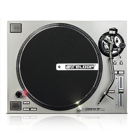 Reloop RP-7000 silver Direct drive DJ turntable Plata - Tornamesas ...