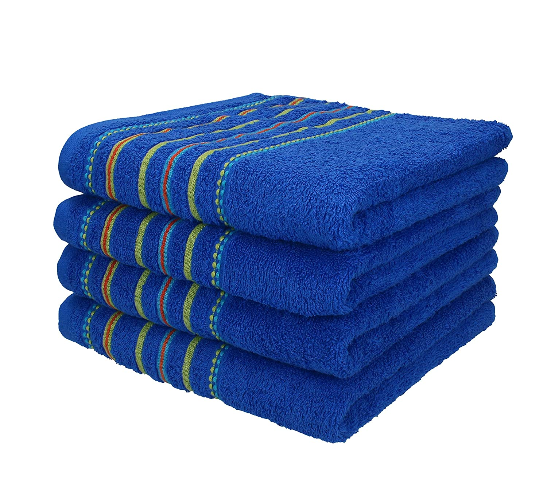 BETZ Juego de 4piezas de toallas 50x100 cm toalla para el deporte PORTUGAL de color azul: Amazon.es: Hogar