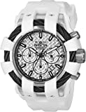 Invicta Men's 'Bolt' Quartz Stainless Steel and Silicone Casual Watch, Color:White (Model: 23857)