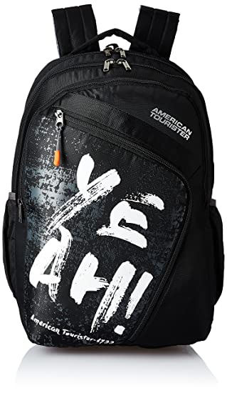 American Tourister 27 Ltrs Black Casual Backpack (AMT VOLT BACKPACK 01 - BLACK)-Best-Popular-Product