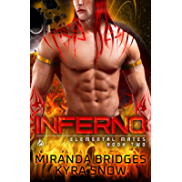Inferno: An Alien Warrior Romance (Elemental Mates Book 2) (English Edition)