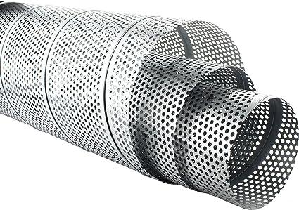 Perforato in lamiera 200 x 150 mm 0,6 mm di spessore