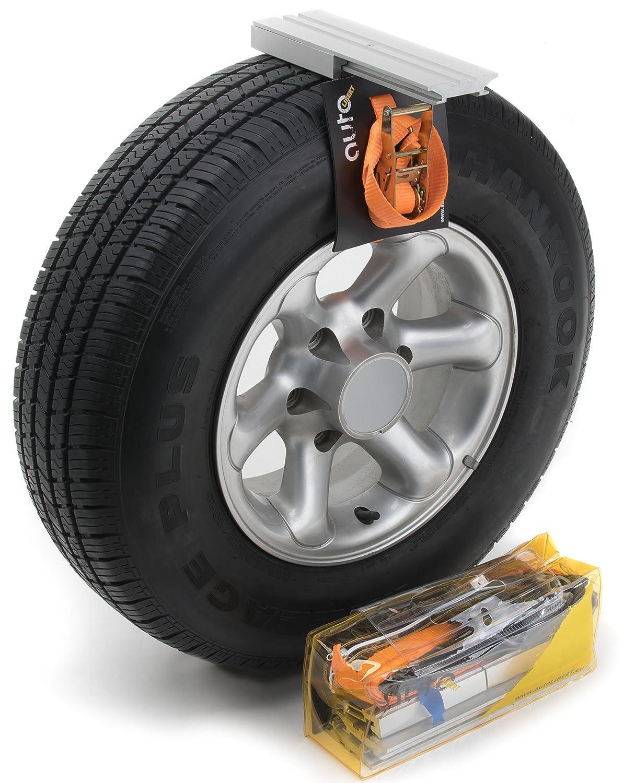 autoLIBERT Cadenas antideslizantes de los neumáticos de automóvil para coches 4x4 SUV camioneta. Ideal para el terreno con barro y arena.