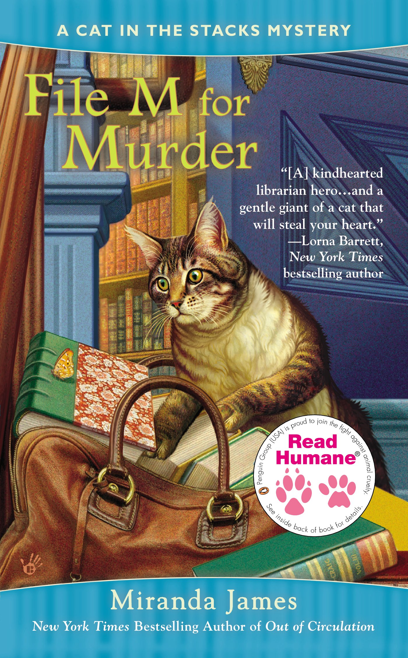 Read Humane File M for Murder (Cat in the Stacks Mystery) pdf epub