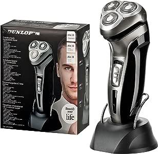 Dunlop Pro afeitadora eléctrica (3 cabezales de afeitado ...