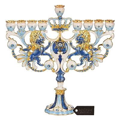 elegant menorah candelabra
