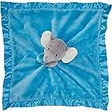 Carter's Cuddle Plush Blanket Elephant, Grey/Blue