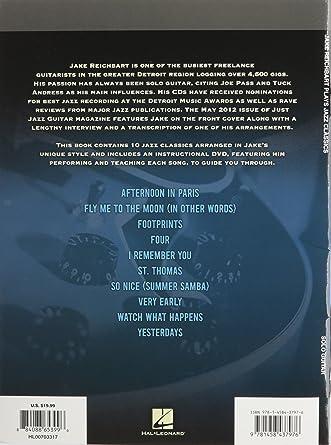 Jake Reichbart-Plays Jazz Classics DVD Region 1 NTSC US Import