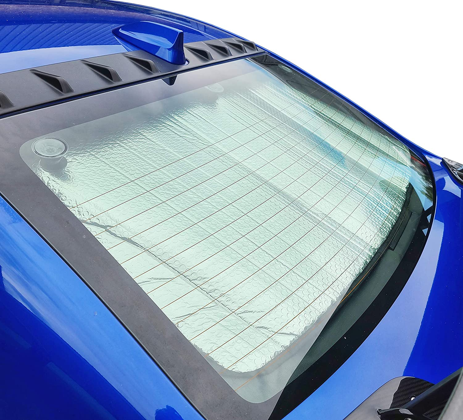 Autotech Park Front Windshield Sunshade Compatible with 2003-2014 Volvo XC90 SUV Custom-fit Windshield Sun Shade