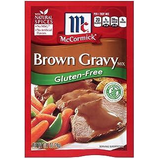 McCormick Gluten Free Brown Gravy Mix, 0.88 oz