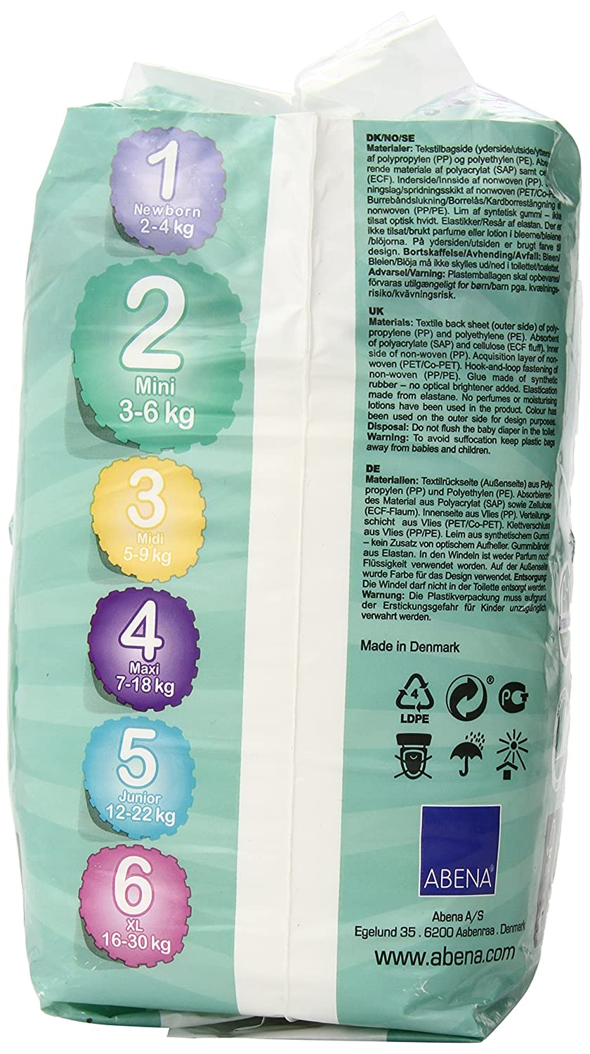Bambo Nature Baby Diapers Classic Size 3 66 Count 11-20 lbs 2 Packs of 33