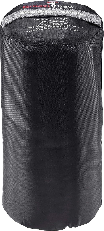 Gr/üezi-Bag WellhealthBlanket Wool Daunenschlafsack
