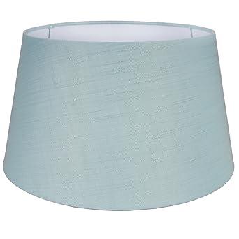 Lampenschirm ø 39 Cm Textil Landhaus Stoff Schirm Stehlampenschirm