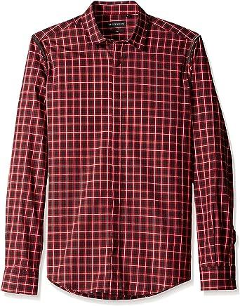 Antony Morato Camisa Hombre Rojo ES 44: Amazon.es: Ropa y accesorios