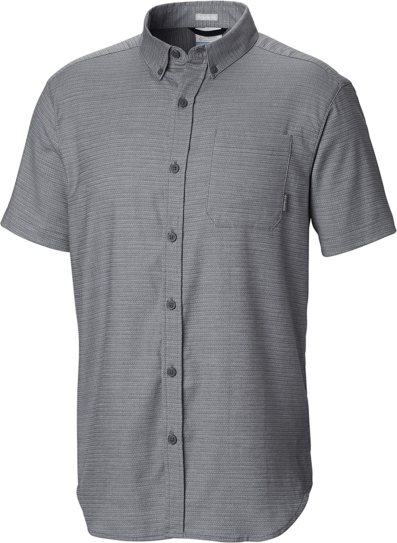 Columbia Men's Rapid Rivers Ii Short Sleeve Plaid Shirt, Comfort Stretch
