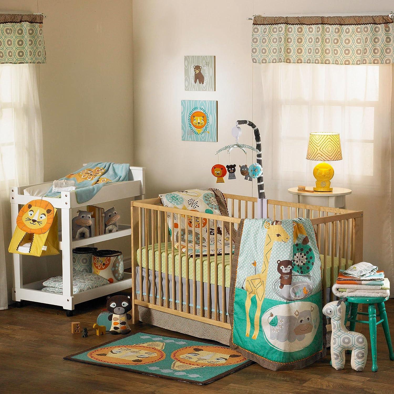 Lolli Living Zig Zag Zoo 4 Piece Crib Set by Lolli Living [並行輸入品]   B00IH8B6O6