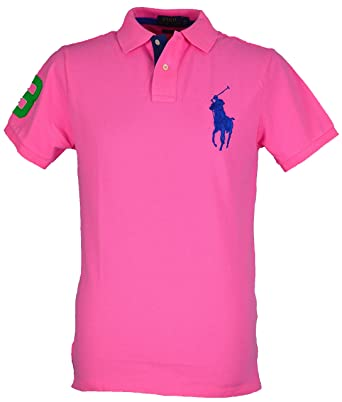 Ralph Lauren - Polo - Homme Rose rose Large - Rose - X-Large  Amazon ... 288335595244