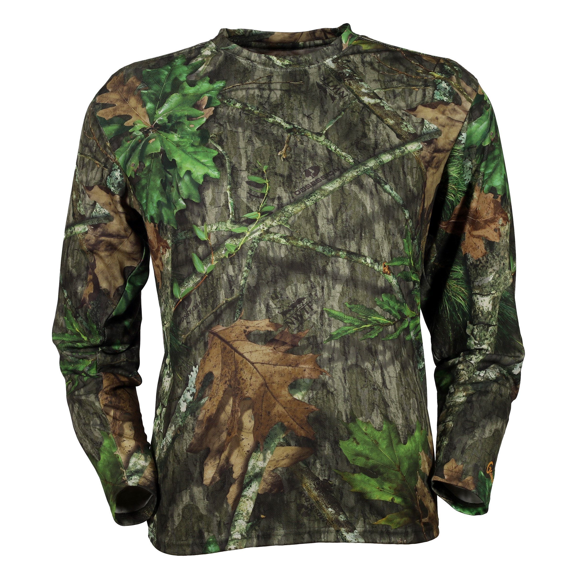 Gamehide ElimiTick Long Sleeve Tech Shirt (Mossy Oak Obsession, XL) by Gamehide