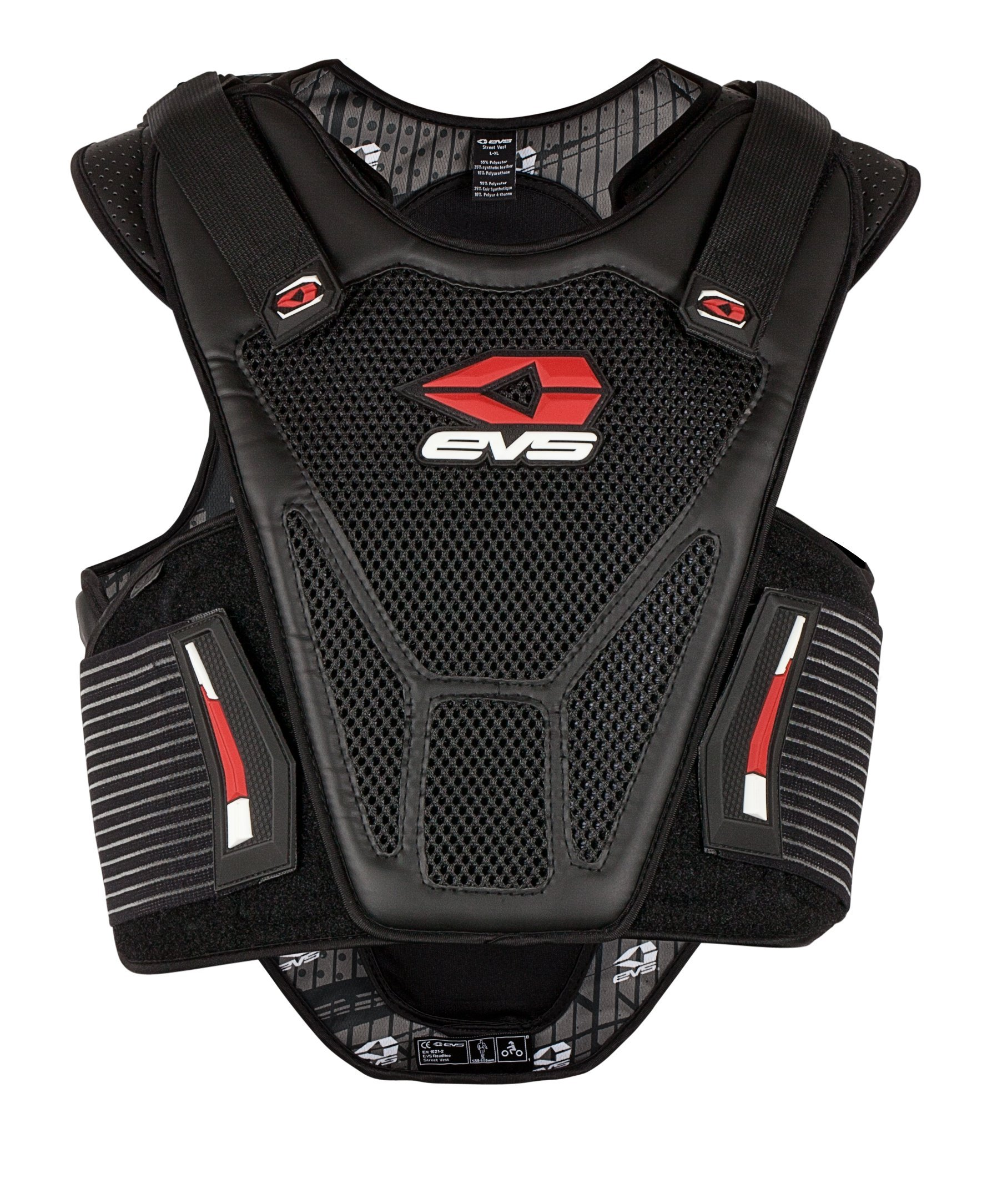 EVS Sports 512201-0112 Street Vest (Black, Small/Medium)