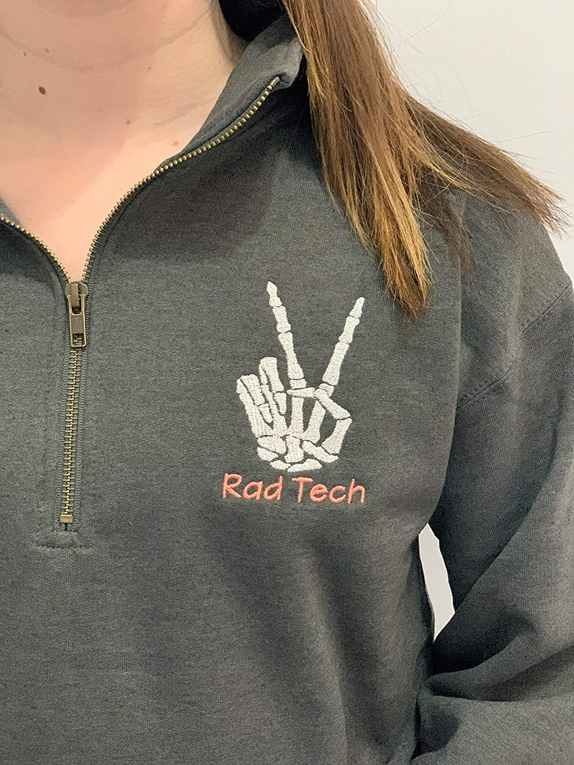 S rad tech sweatshirt gift for x-ray office staff coworker wife RTR graduation pullover jacket
