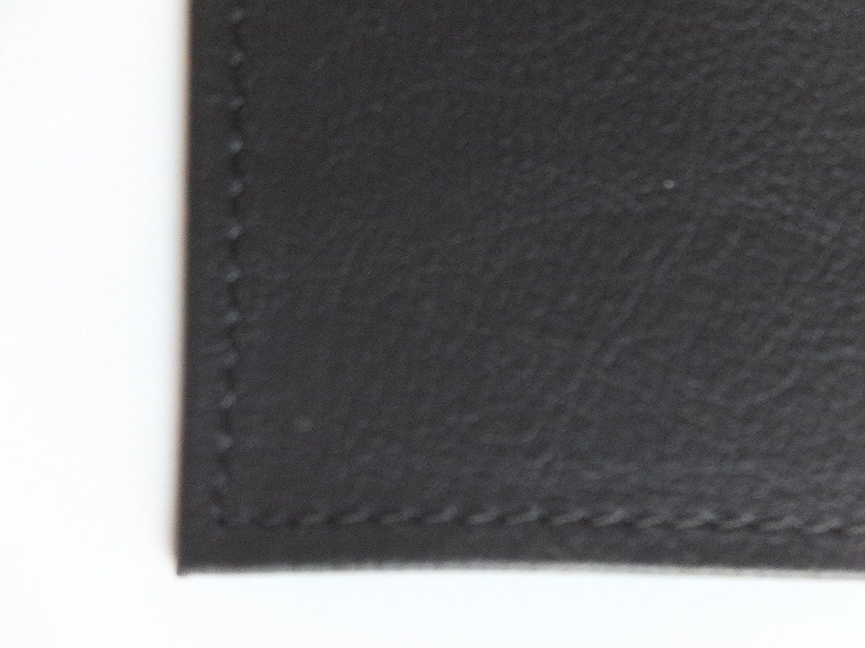 Taqua: tappeto in ecopelle ignifuga colore nero, tappeto per stufa ...
