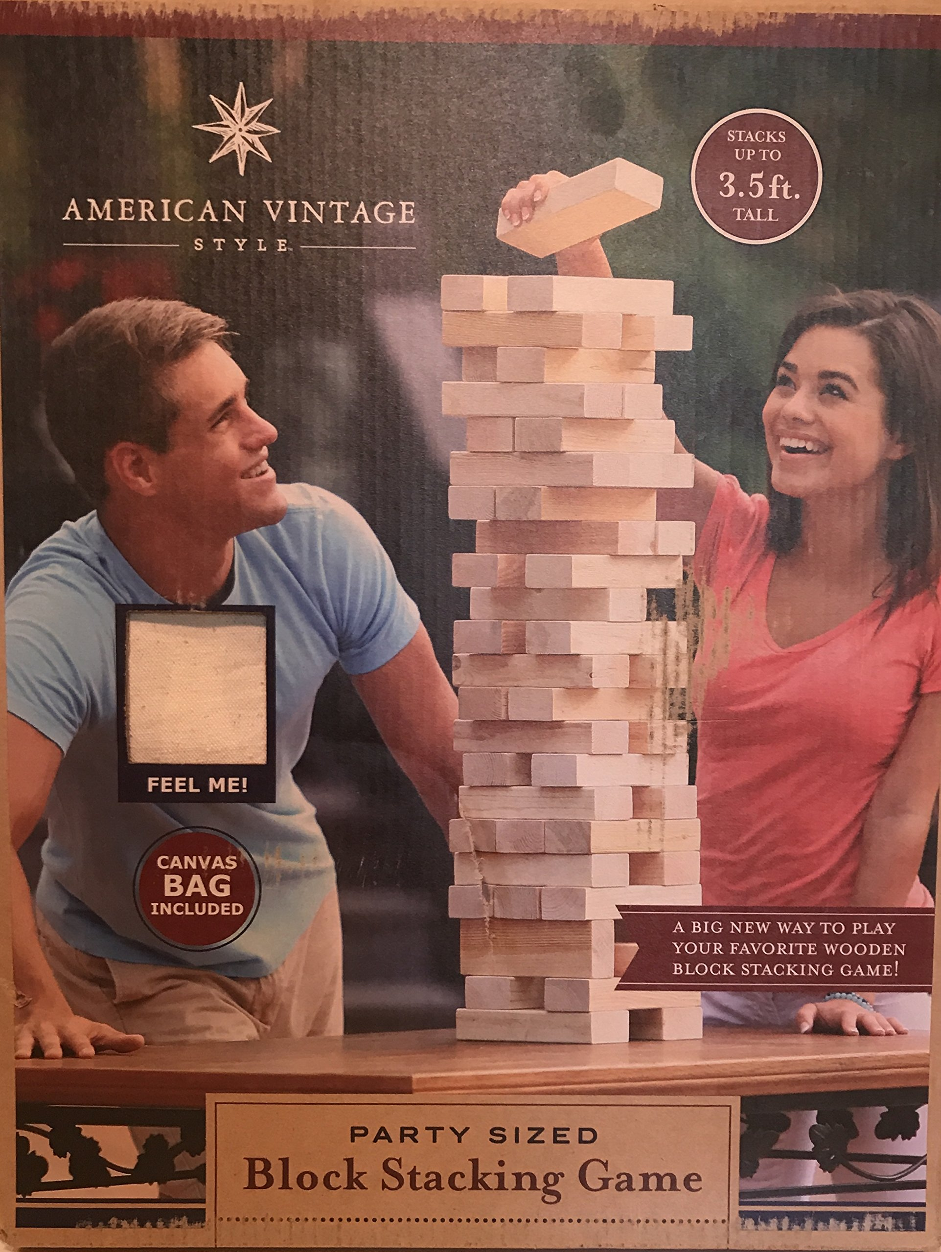 Party Sized Block Stacking Game