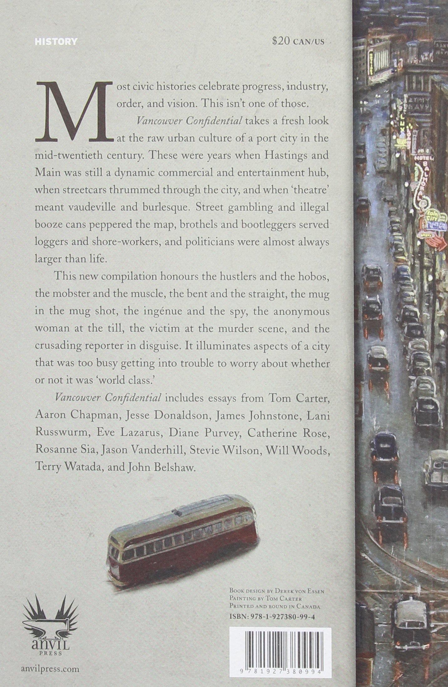 vancouver confidential john belshaw books