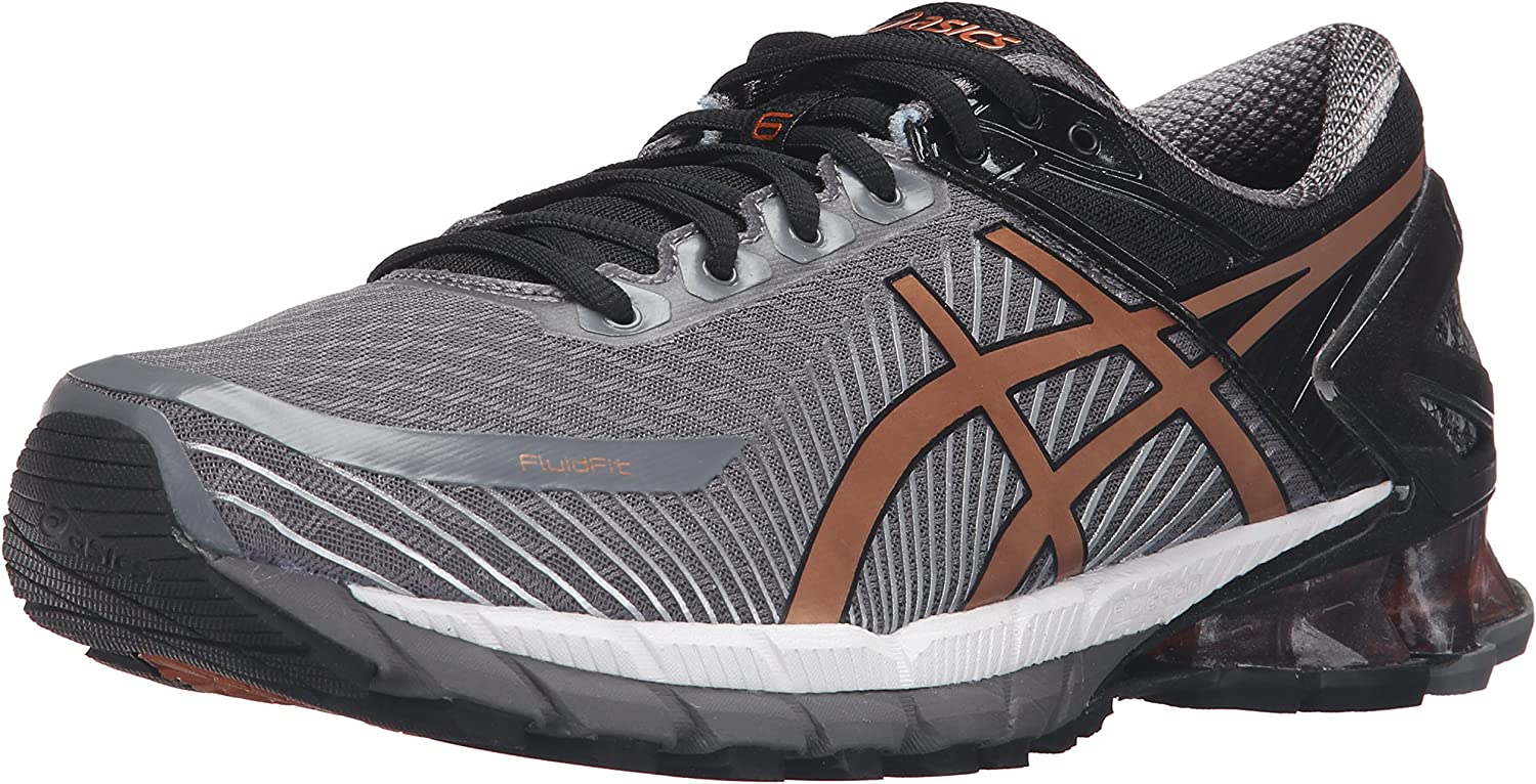 Aburrir ignorancia Cita  Amazon.com | ASICS Men's Gel-Kinsei 6 Running Shoe, Carbon/Copper/Black,  7.5 M US | Road Running