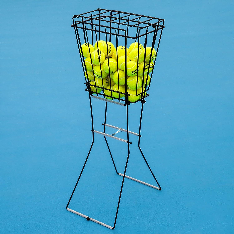 Vermont Panier à Billes de Tennis | Détient 72 balles de Tennis | Excellent Stockage de balles de Tennis | Conception en Acier Durable | Tennis Ball Collection [Net World Sports]