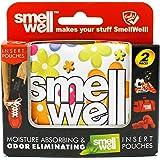 SmellWell Moisture Absorbing & Odor Eliminating Shoe Freshener (Multi-Coloured - multi-coloured)