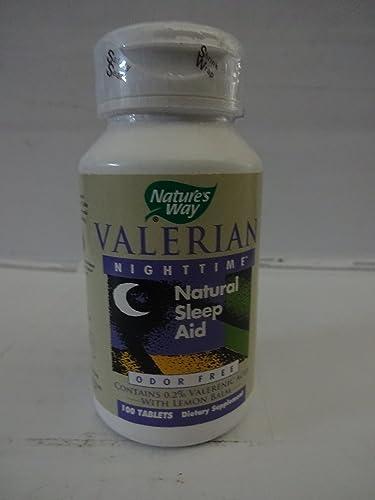 Natures Way Valerian Nighttime