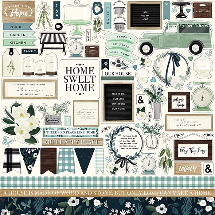 The Best Home Scrapbook Stickers