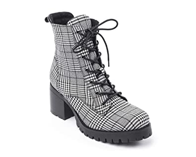 3485d5e86dd88 Jane and the Shoe Women's Jakob Lace Up Ankle Bootie
