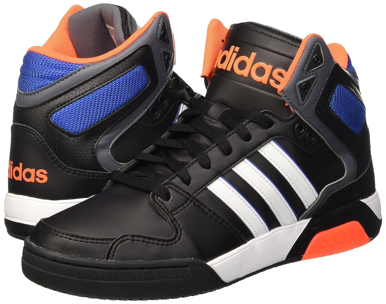 the latest 7f5be 58633 adidas BB9TIS, Zapatillas de Deporte para Hombre, Negro Blanco   Naranja  (Negbas Ftwbla   Narsol), 40 2 3 EU  Amazon.es  Zapatos y complementos