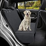 Active Pets Dog Back Seat Cover Protector Waterproof Scratchproof Hammock for Dogs Backseat Protection Against Dirt and Pet F