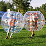 Yaekoo Pvc Transparent 5 Feet 1.5M Diameter Inflatable Bumper Ball Human Knocker Fitness & Jogging