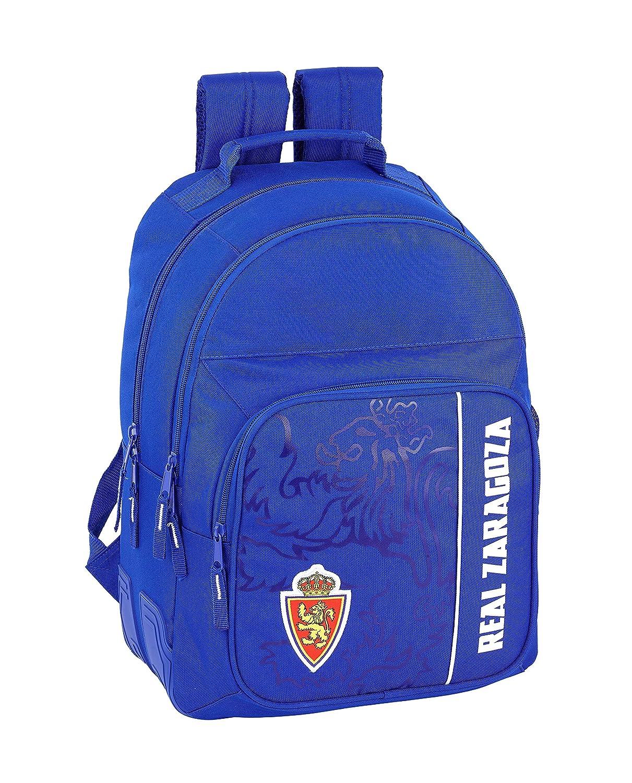Real zaragoza officielle sac à dos scolaire 320x 150x 420mm