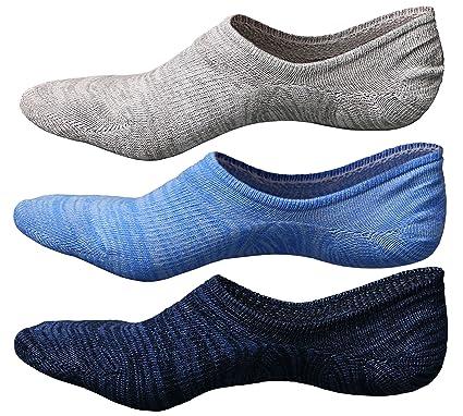 LOFIR De los hombres Calcetines sin espectáculo Calcetines tobilleros de corte bajo Calcetines ocultos para botes
