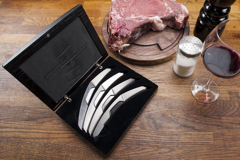 Extrema ratio steel mazo (4 cuchillos) carne BOX Knive ...